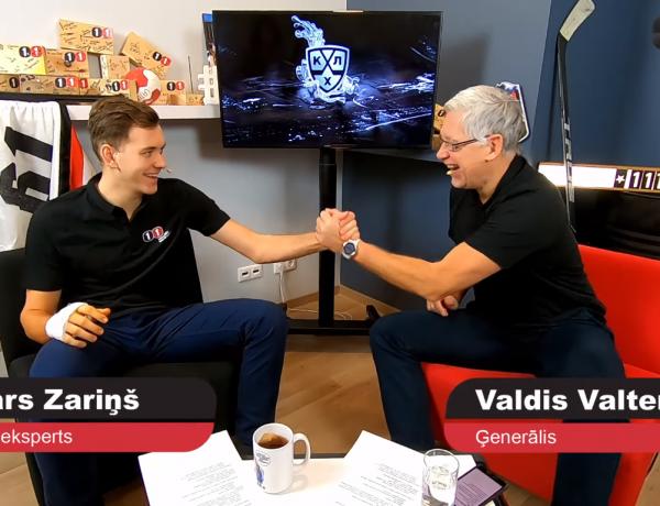 """Video: Lotārs vs. Ģenerālis   KHL un Rīgas """"Dinamo"""""""