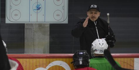 Video: Rodrigo Laviņš par dēlu, trenēšanu un bērnu hokeja niansēm