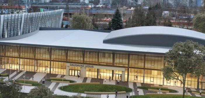 Daugavas stadiona ledus halle. Foto: armsgroup.lv
