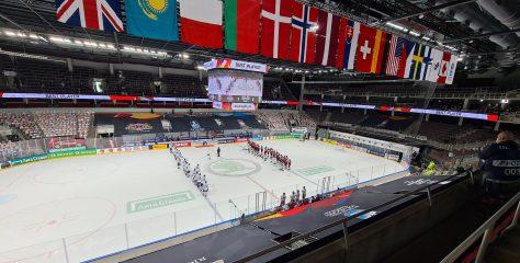 Video: Brīvprātīgo darbs pasaules čempionātā hokejā